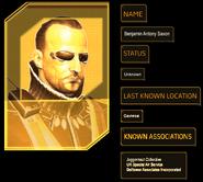 Ben Saxon intro info