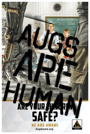 Augs Are Human poster 3