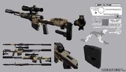 DX 3 Longsword Whisperhead rifle