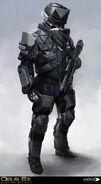 DXMD police SWAT concept