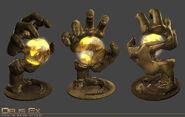 Majestic 12 hand render