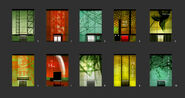 Hive facade variants