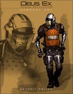 DX3 PoliceConcept