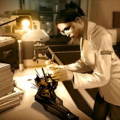 Доктор Рид за работой