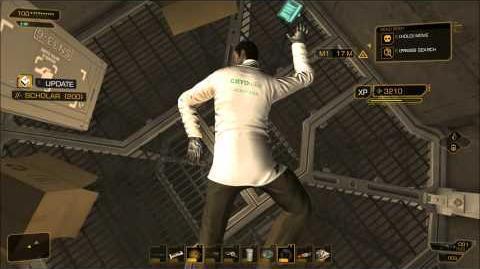 Deus Ex Human Revolution Tai Yong Medical Air Shaft Without Icarus Landing System