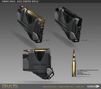 DXMD sniper rifle ammo concept