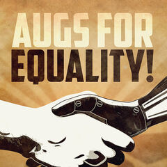 Плакат «Augs for Equality»
