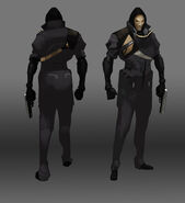 DX GO Shadow Operative concept