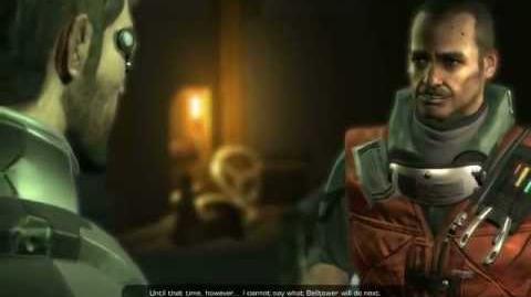 Deus Ex Human Revolution - The Missing Link DLC, Garvin Quinn