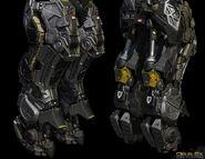 EXO-suit legs