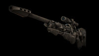 Sniper rifle front angle DXMD