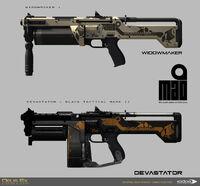 DXMD shotgun skins
