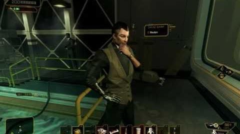 Deus Ex HR punching out Sarif h+ ³ HD