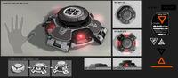 DXMD mine states concept