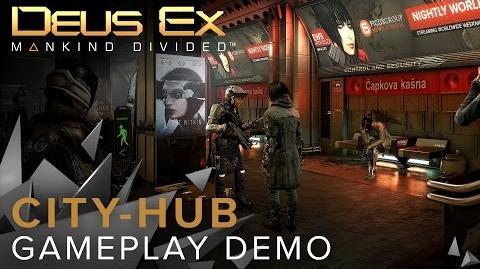 Deus Ex Mankind Divided - City-hub Gameplay Demo-0