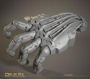 Barrett hand zbrush