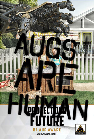 Augs Are Human poster 1