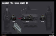 Combat rifle laser sight 01