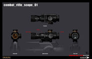 Combat rifle scope 01