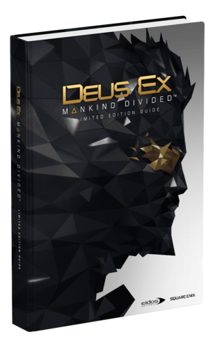 Image of Deus Ex: Mankind Divided - Limited Edition Guide