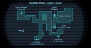 Seattle map Upper