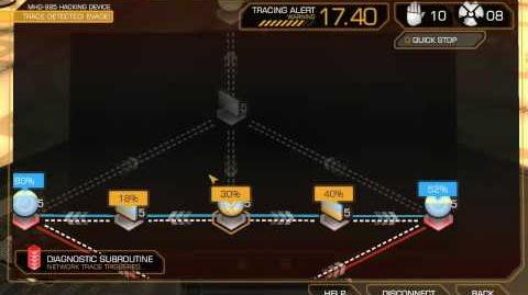Deus Ex Human Revolution - Hacking David Sarif's computer