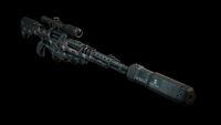 Elite tranquilizer rifle back DXMD