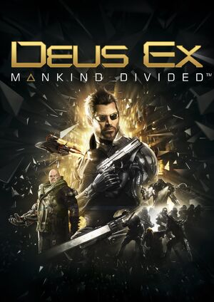 Mankind Divided cover
