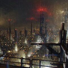 Ночной Голем-Сити