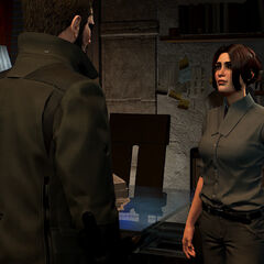 Делара разговаривает с Дженсеном