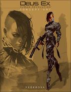 DX3 Yelena Fedorova concept art
