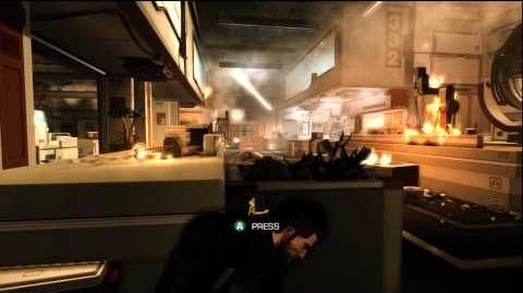 Deus Ex Human Revolution Pacifist Achievement Walkthrough - Introductory Mission