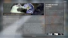 Samizdat issue earthquakes clones