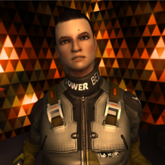 Алекс Вега в Deus Ex: The Fall