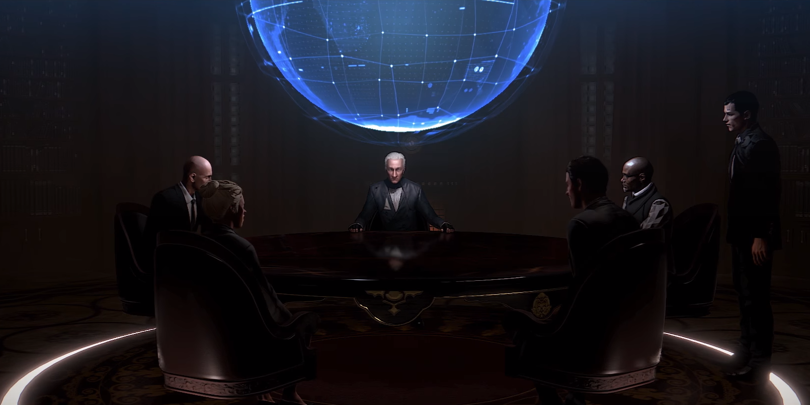 Council of Five   Deus Ex Wiki   FANDOM powered by Wikia