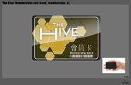 Hive membership card concept