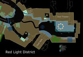 Red Light District annotated map