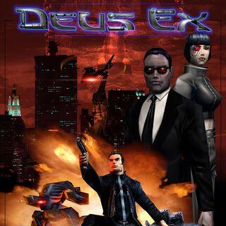 Постер <i>Deus Ex</i>