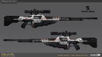 DXMD tranquilizer rifle concept