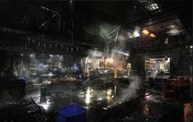 A market within Útulek Station