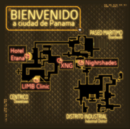 DXTF Panama City map