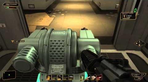 Easy way to kill Jaron Namir (Deus Ex Human Revolution)