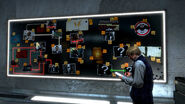 Task Force 29 HQ investigation board