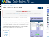 WikiaCommunityCentralTheme