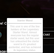 Starter wand