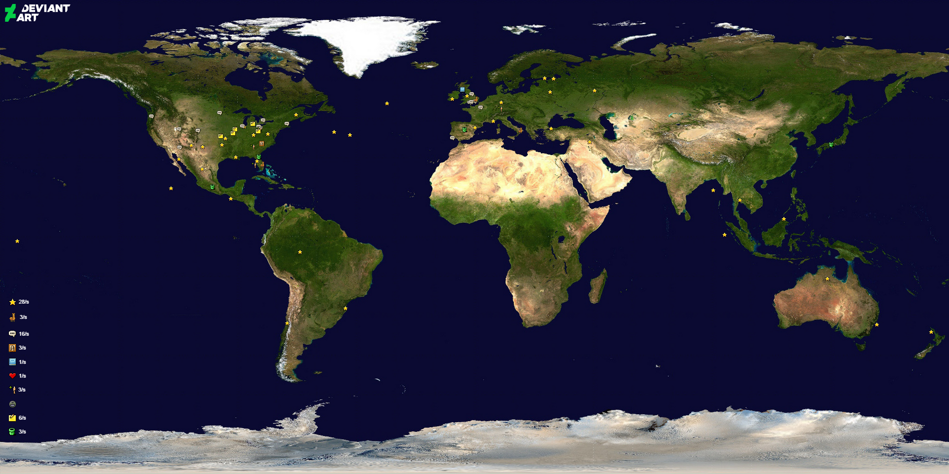 World map deviantart wiki fandom powered by wikia screenshot of the world page sciox Images