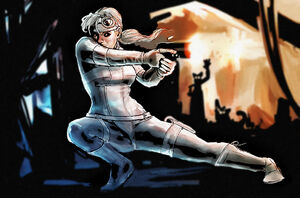Silver sable by punchyninja