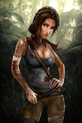 Dirty lara by skribblix-d3jyb75