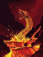 Lava dragon by rafametroid