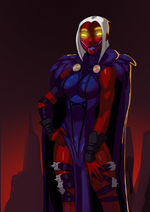 120313 injustice raven by morganagod-d6wm9xq